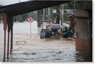 3 MUERTOS POR INUNDACIONES EN BRASIL