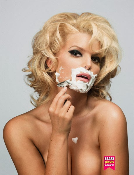 jessica simpson desnuda playboy: