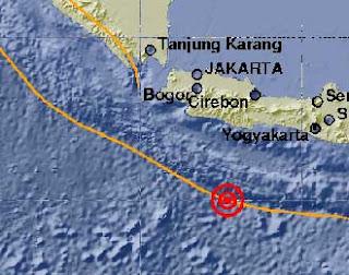 Cilacap Gempa 7,1 SR