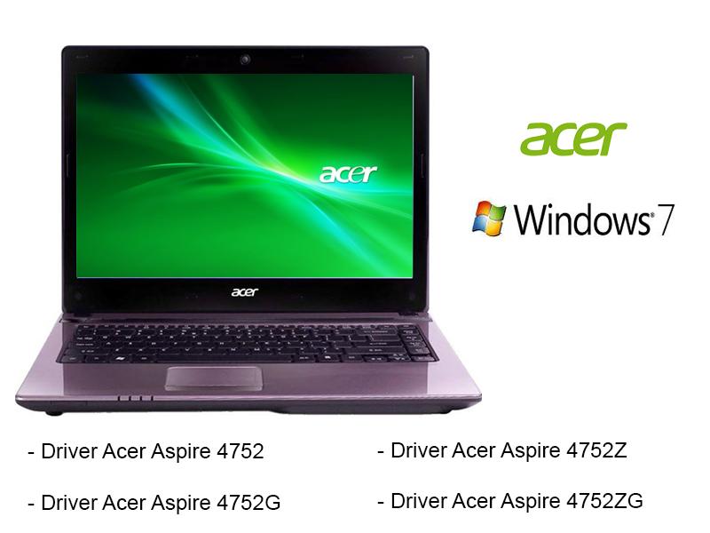 acer aspire 4752g audio driver