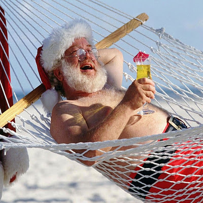 Funny Santa Claus, Christmas download free wallpapers for Apple iPad