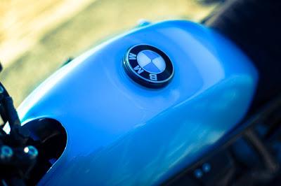 BMW K100 by Scrambler