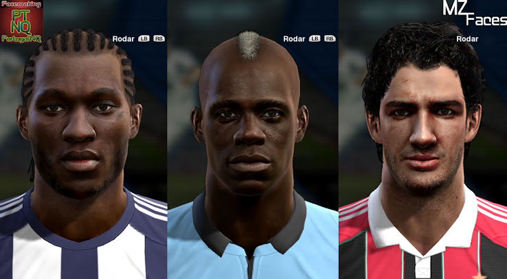 PES 2013 Facepack by M4rtinZ