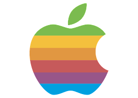 download Logo Apple Vector (Design Full Color)