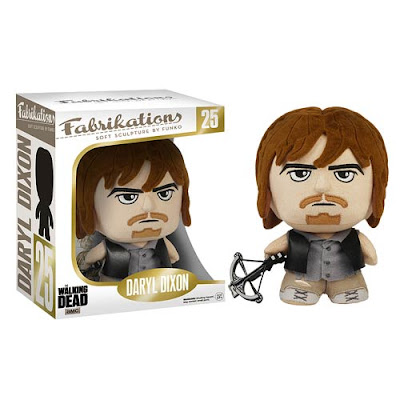 The Walking Dead Daryl Dixon Fabrikations Plush Figure by Funko