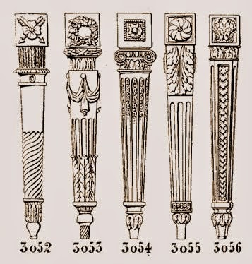 Ornamental woodcarver patrick damiaens carving a rosette - Pieds de table vintage ...