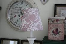 Spetsprydd lampskärm