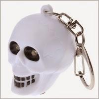 брелок хэллоуин череп купить
