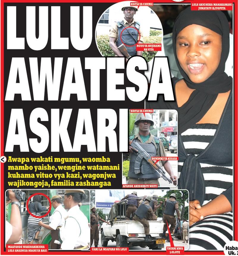 george com 2012 05 kwenye gazeti la amani leo askari wanao html