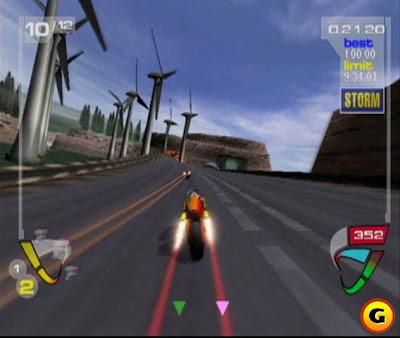 XGIII: Extreme G Racing (PS2) 2001