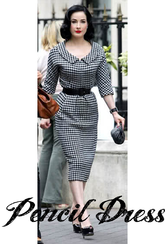Retro Pencil dress from Bombshell Vintage