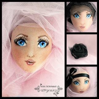 Мои любимые игрушки, авторская текстильная кукла, my lovely toys, art cloth doll