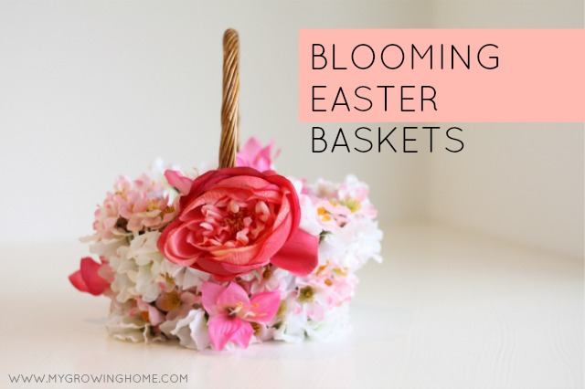 Floral Easter Basket | My Growing Home
