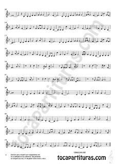 2  Partitura fácil para Flauta Dulce o de pico e instrumentos en clve de sol de Viola Sheet Music for Viola Music Score