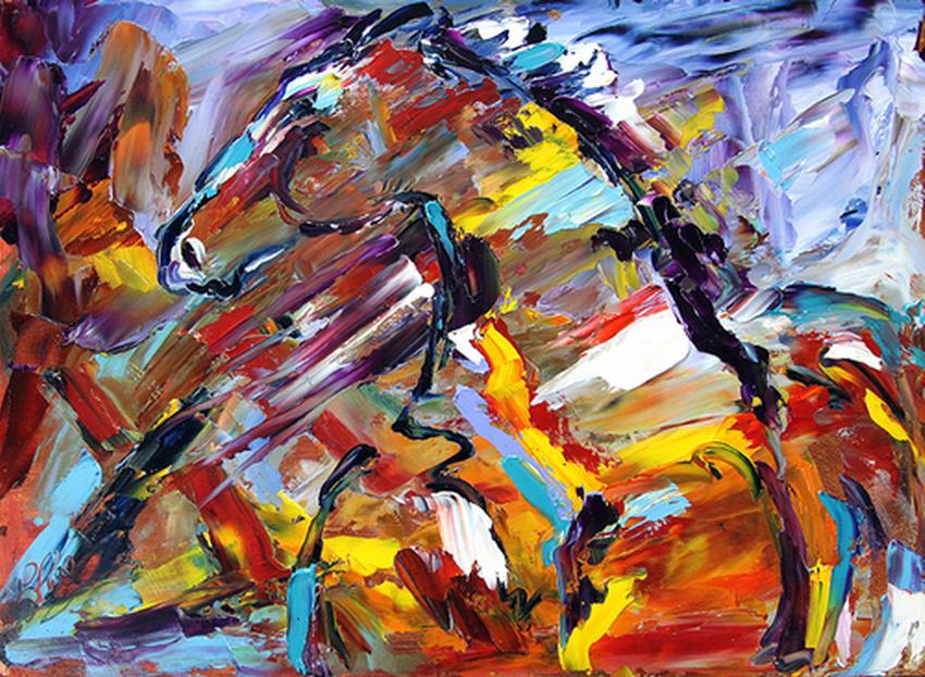 Cuadros modernos pinturas y dibujos lindos cuadros de for Fotos de cuadros abstracto