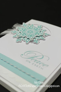 Festive Flurry by Ida Chan Stampin' Up! Vancouver