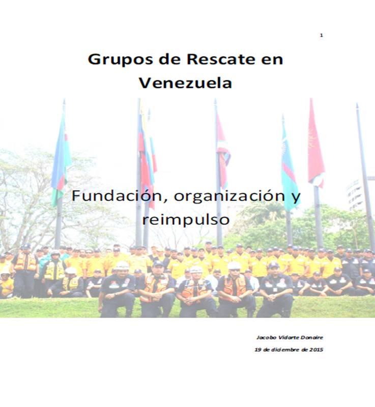 LIBRO: Grupos de Rescate en Venezuela