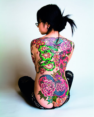 Japanese Tattoo For Girls