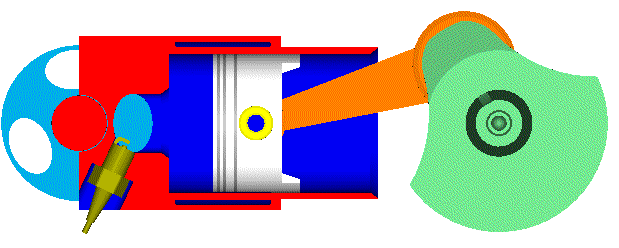 Cara pemasangan piston motor 2 tak pada stang