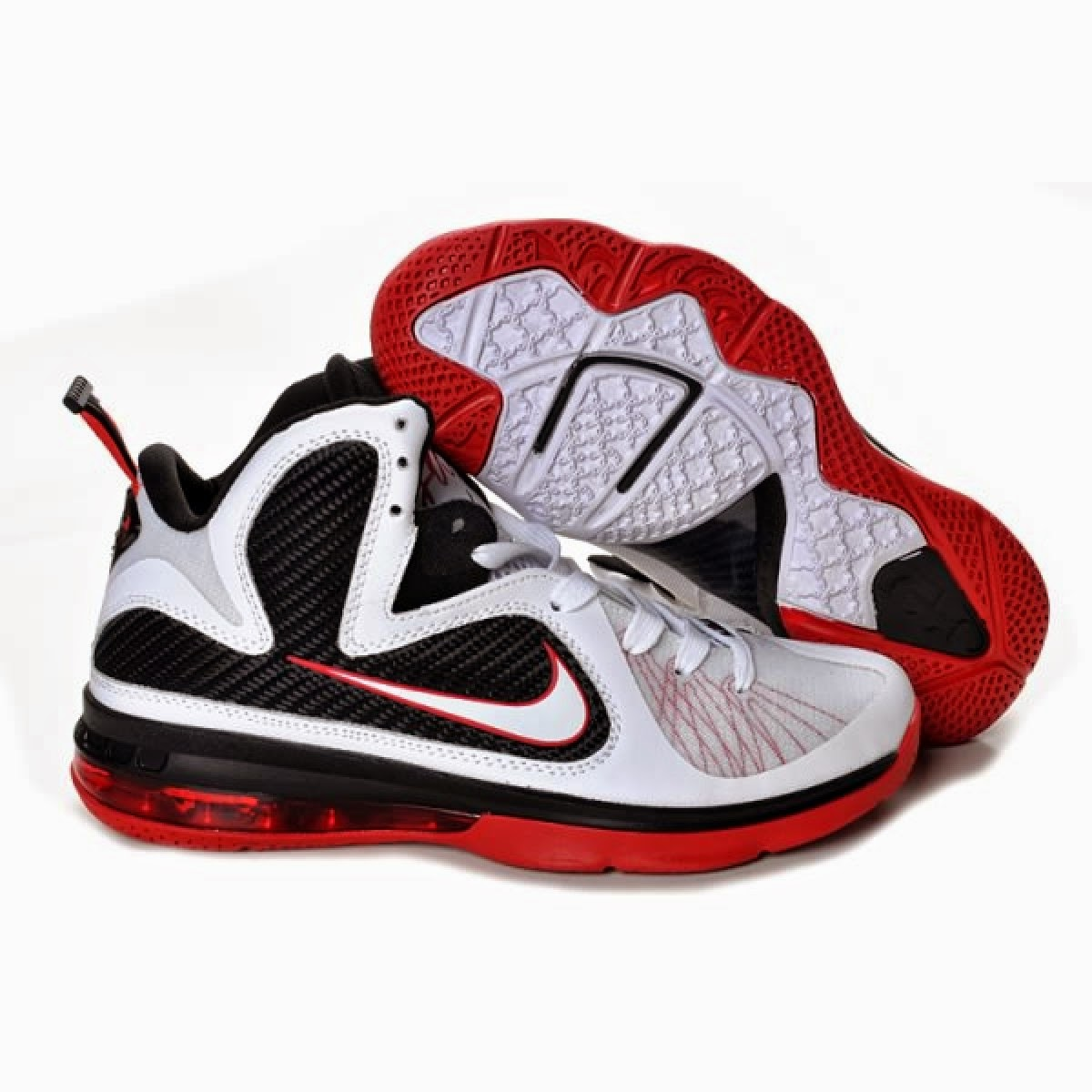 Nike Basketball Shoes Red And Black   Viewing Gallery