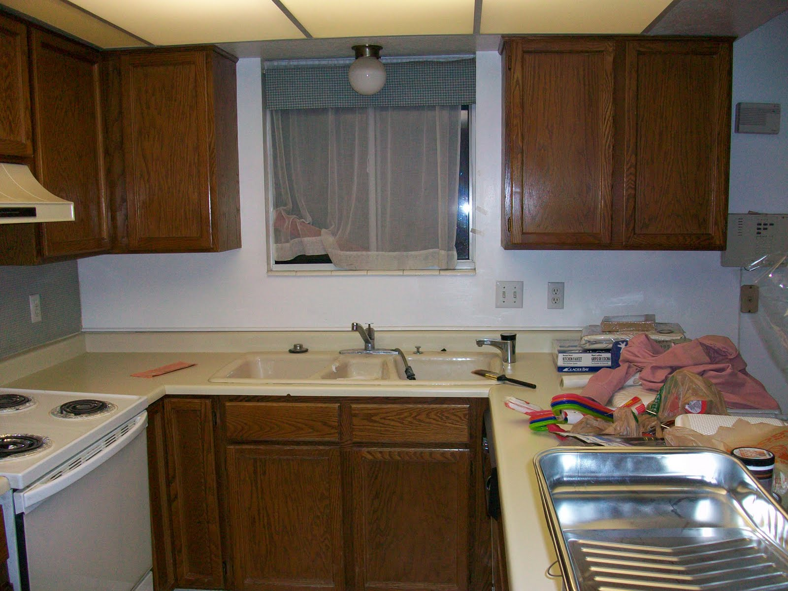 kitchen reno colour ation budget small with before islands ate