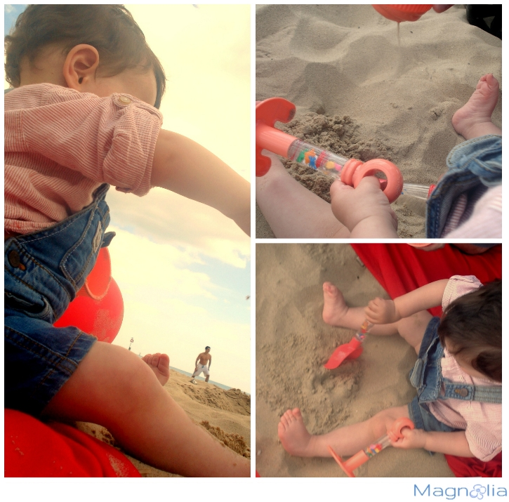 baby sand fun