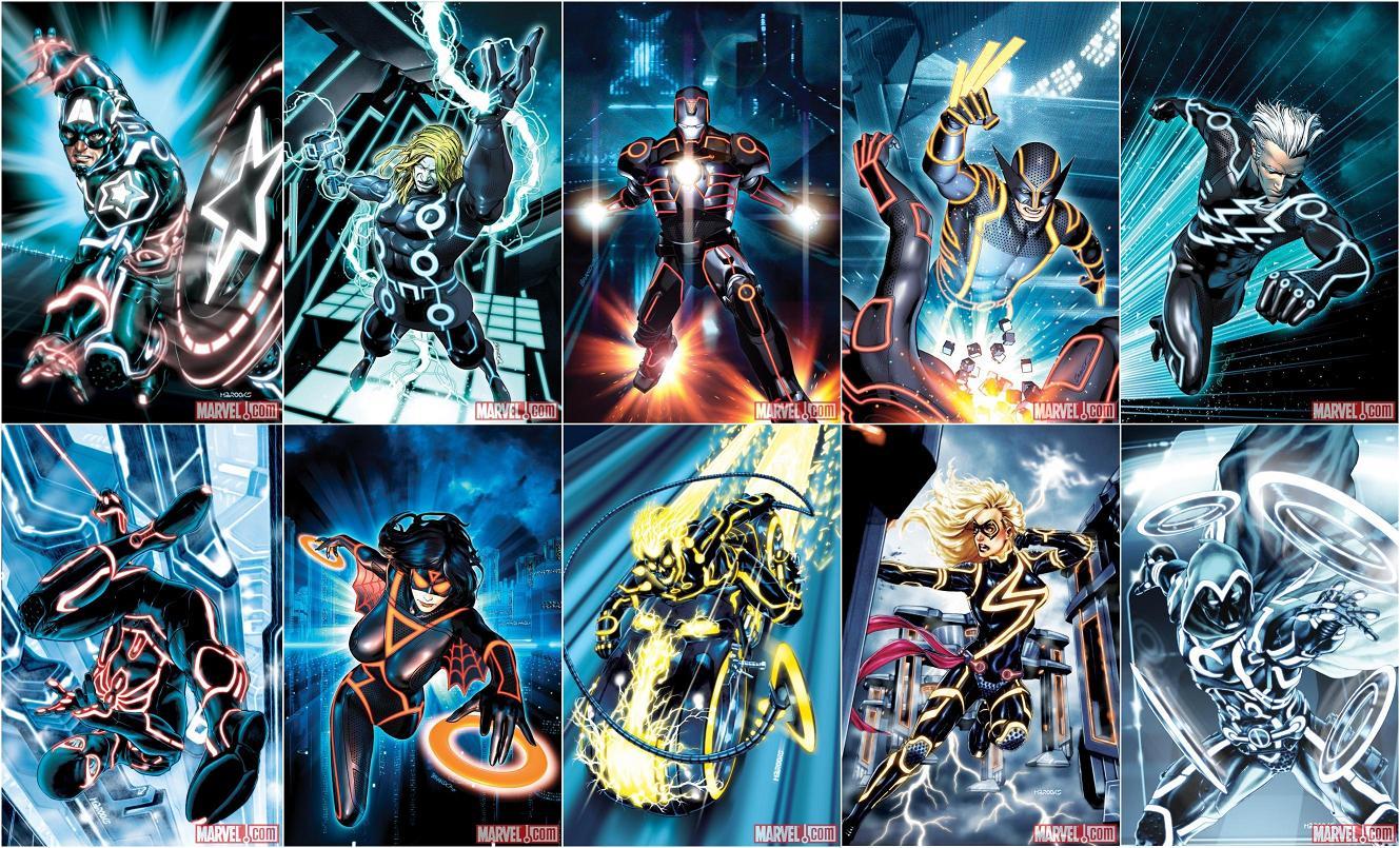 Quicksilver Avengers 2 Costume Request] Tron DC Skin ...