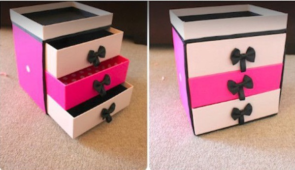 10 ideas originales y muy baratas para organizar tu - Cajas de plastico baratas ...
