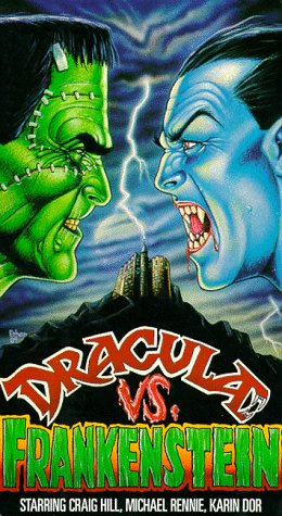 Dracula Vs. Frankenstein DVD