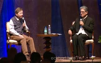 Eckhart Tolle et Deepack Chopra