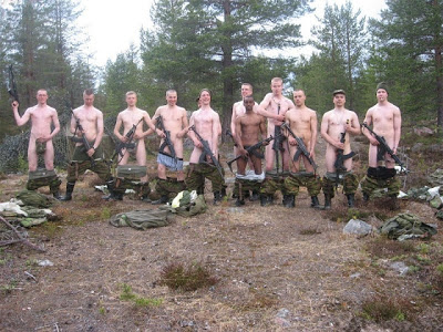 Naked Army Men Soldiers