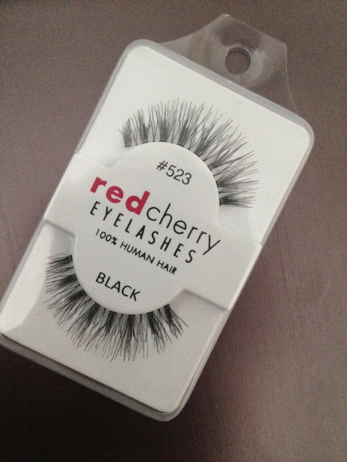 Hardly Florid Red Cherry Eyelashes My Favorite Falsies