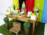 Decoração de festa infantil Angry Birds Porto Alegre