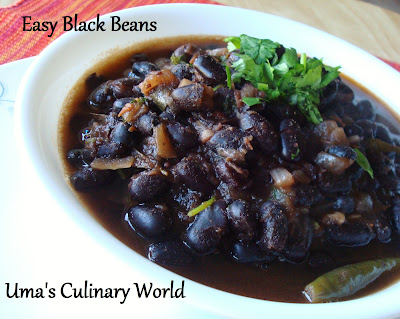 desi Black Beans Curry