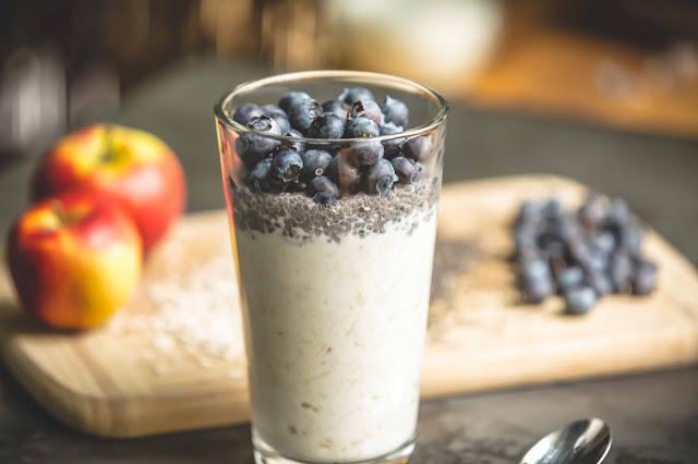 Bircher Müsli mit Yoghurt