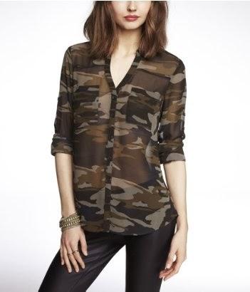 Express portofino camo print, camouflage