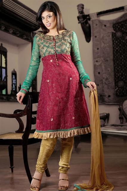 Churidar Bridal Shalwaar kameez