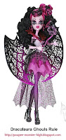 Poupée Monster High Draculaura Ghouls Rule (Halloween)