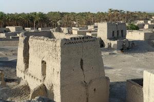 روستا و قلعه ابتر. - ايرانشهر