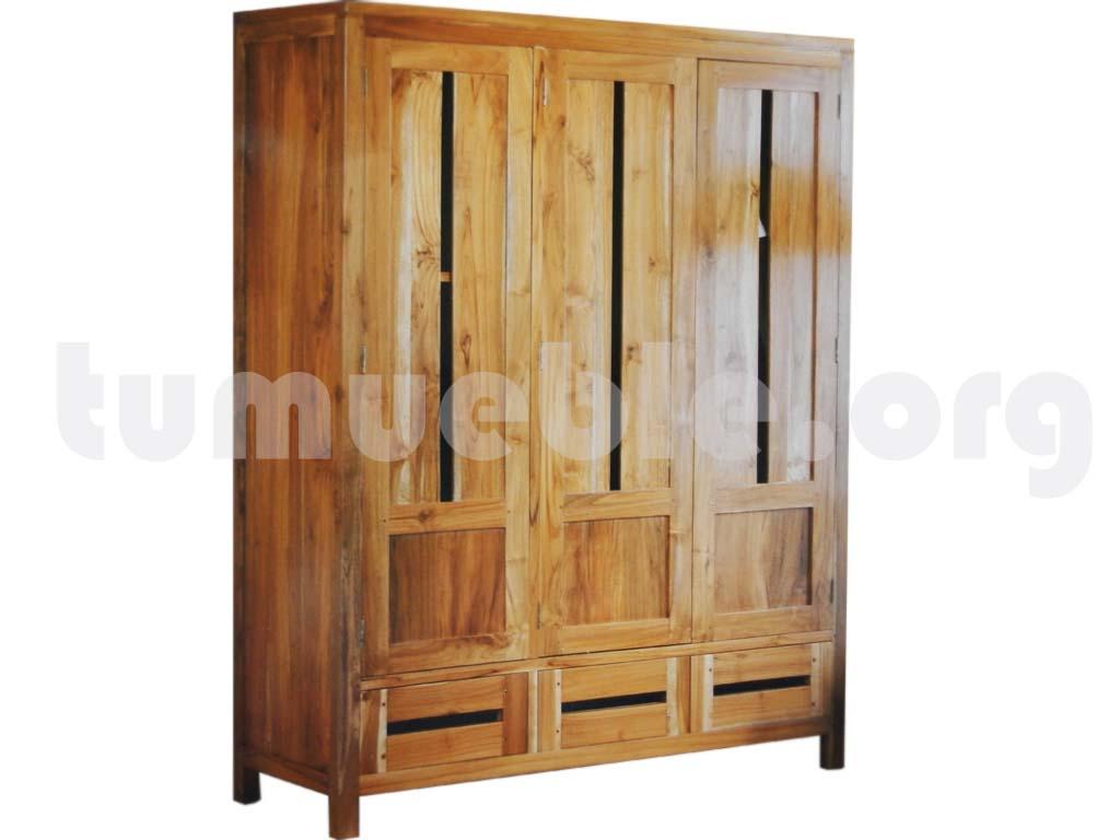 Tumueble outlet muebles de rattan y muebles de teca for Outlet armarios roperos
