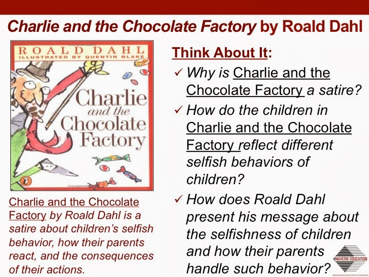 charlie and the chocolate factory essay