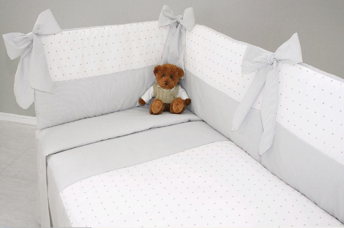 Beral baby preparando la habitaci n del beb iii ropa de - Vestir cuna bebe ...