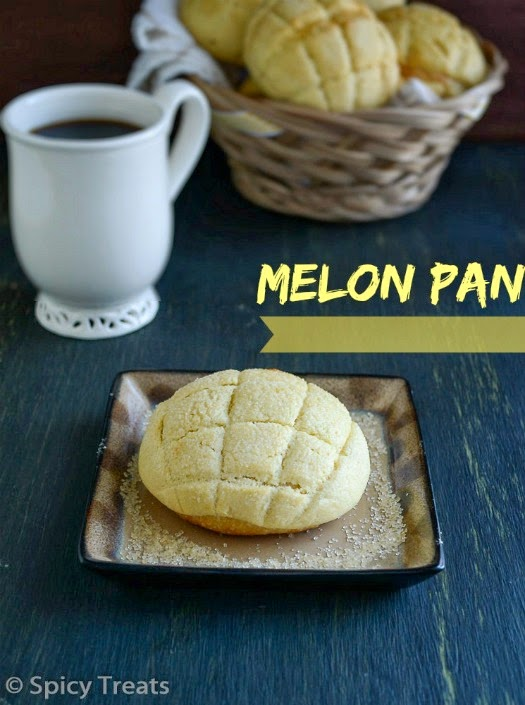 Melon Pan / Japanese Melon Pan Recipe