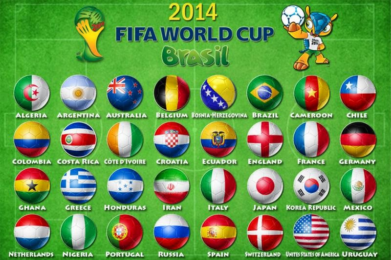 CHECK IT OUT For The Love Of The Game The FIFA World Cup - Countries of the world game