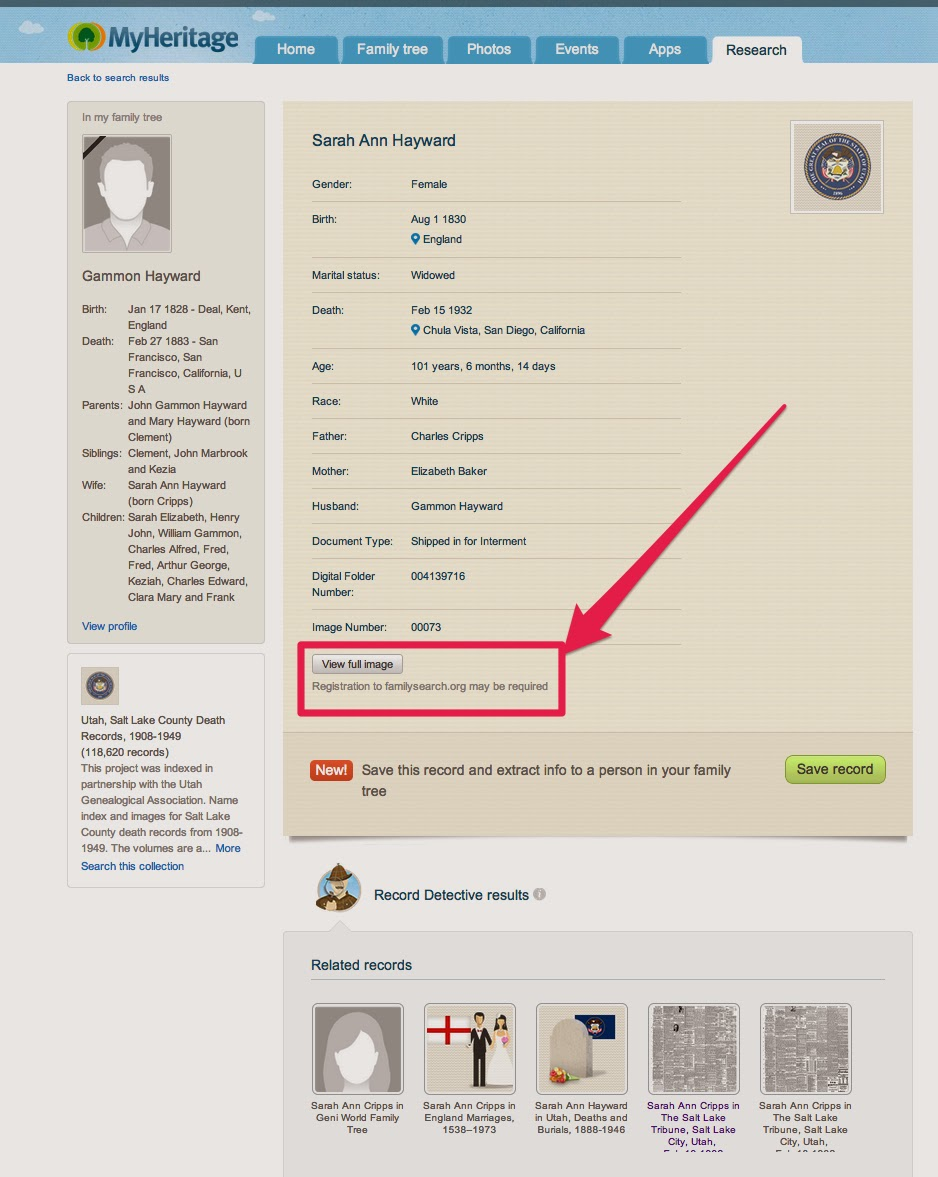 how to search death records in canada