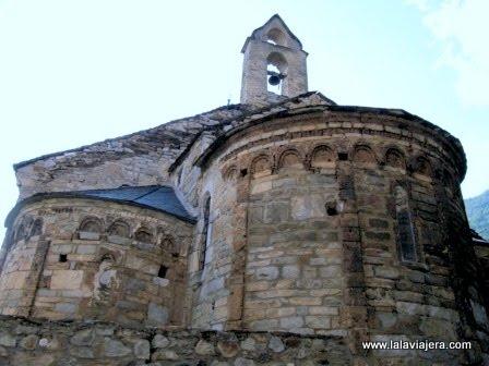 Iglesia Eulalia Unha, Romanico Valle Aran