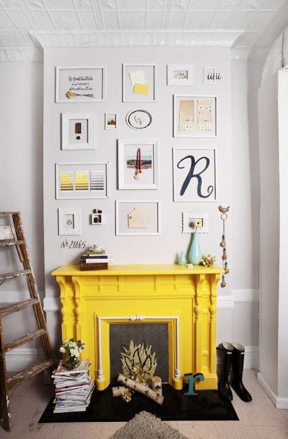 idée décoration cheminée