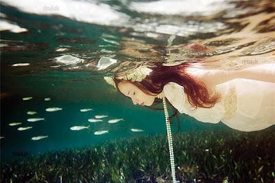 Подводный мир Елены Калис: Fair Ladies (22 фото)