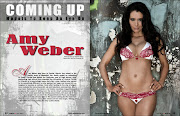 The April 2013 issue of Rukus Magazine showcases Amy Weber as a 'Coming Up' .