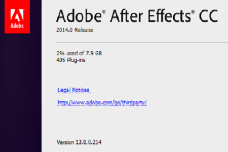 Download Adobe After Effects CC 2014 Update v2.0